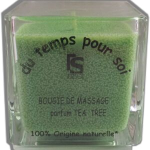 Bougie de massage The vert